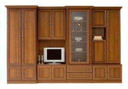 MobAmbient Bibliotecă de sufragerie, clasică - model WIKI B