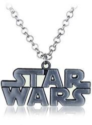 Star Wars Lantisor Cu Pandantiv Star Wars Logo Argintiu (zum305)