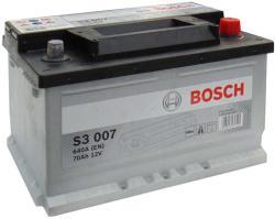 Bosch S3 12V 70Ah 640A Jobb+ (0092S30070)