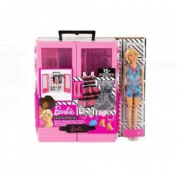 Mattel Barbie Dulapul suprem roz cu accesorii si papusa set de joaca