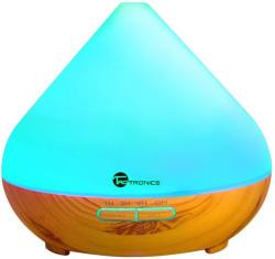 TaoTronics - Anjou Pachet Aromaterapie, Difuzor cu ultrasunete 300 ML si Set 6 uleiuri esentiale