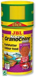 JBL Hrana granule pentru toate speciile JBL NovoGranoColor mini 100ml Click - animalulfericit