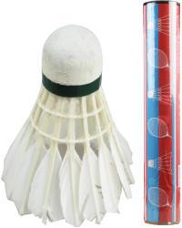 Fluturasi badminton din pene la tub 12buc/set