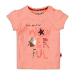 DIRKJE Tricou cu mânecă scurtă C- SO FRESH WONDERFUL 68 Pink (AGS35C-34275-68)
