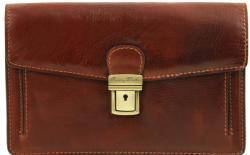 Мъжка кожена чанта за ръка tommy tl141442 tuscany leather