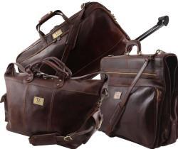 Травел сет пътни кожени чанти luxurious tl141078
