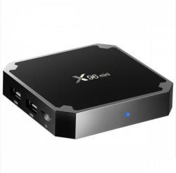 Mini PC Tv Box, X96 Mini, Android 9, UHD 4k, 2GB Ram DDR3, 16GB ROM, Quad-Core, 64Bit, Telecomanda