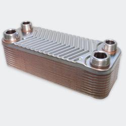 Wiltec Schimbator de caldura cu 20 placi Wiltec 44 kW (B3-12-20)