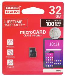 GOODRAM microSDHC 32GB UHS-1/C10 M1A0-0320R12