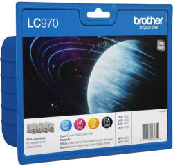 Brother LC970VALBP Multipack (BK/C/M/Y)