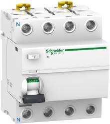Schneider Iid - Protectie Diferentiala - 4P - 40A - 100Ma - Tip C. A (A9R12440)