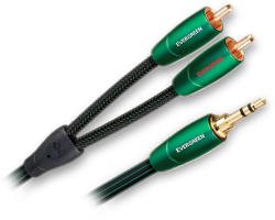 AUDIOQUEST Cablu interconect Audioquest Evergreen 3.5mm - RCA 1 metru