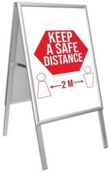 Panou afisaj People Stopper (A-Board) A1 (594x841mm) dubla fata (PS0121A1)