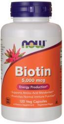 NOW Biotin 5000mcg - fitandhealthy - 39,01 RON