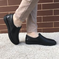 Medline Berende Pantofi Ortopedici din piele Medline 274 1 Negru