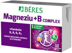 BÉRES Magneziu + B complex, Beres Pharmaceuticals Co, 30 cpr