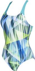 arena shading prism swim pro back one piece lb mint/multi 30