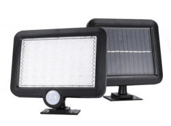 As Seen On TV Lampa 56 LED cu alimentare solara, senzor lumina si senzor miscare