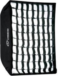 Visico Softbox Visico SB-040 50x130cm cu grid honeycomb montura Bowens