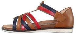 Remonte Sandale Piele Naturala Dama - Maro, Remonte - R2756-23-brown-combination - Marimea 37
