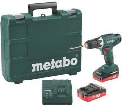 Metabo BS 18 LI SET (602207880) Masina de gaurit si insurubat