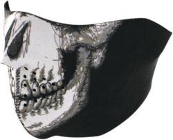 Zan Headgear Half Face Mask Skull Face
