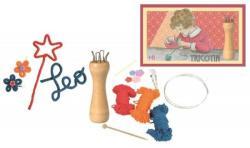 Egmont toys Set creativ pentru copii, Tricotin, Egmont toys (Egm_630546)