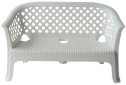 АМСТРАТ Пластмасова пейка Лариана бяла (4631)