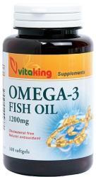 Vitaking Omega-3 ulei de peste 1200mg - 100 comprimate