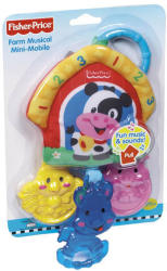 Fisher-Price Zenélő farm mini mobil forgó