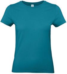 B and C Női rövid ujjú póló B&C #E190 /women T-Shirt -2XL, Díva kék