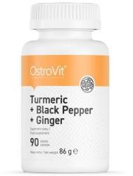Ostrovit Nutrition OstroVit Turmeric + Black Pepper + Ginger 90 tablete