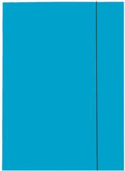 Esselte Mapa Esselte Economy din carton, cu elastic, albastru deschis (SL000177)