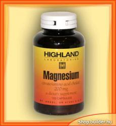 Highland Laboratories Magnesium (100 caps. )