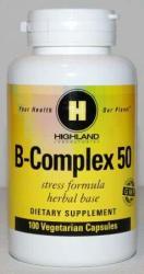 Highland Laboratories B-Complex (100 caps. )