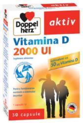 Doppelherz Aktiv Vitamina D 2000UI, Queisser Pharma, 30cps