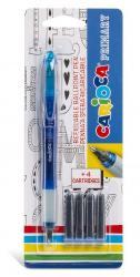 CARIOCA Roller cu cartus cerneala + 4 rezerve/blister, CARIOCA Primary (CA-43248)