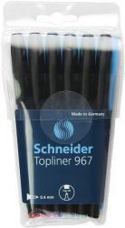 Schneider Liner SCHNEIDER 967, varf fetru 0.4mm, 6 culori/set (S-196796)