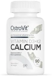 Ostrovit Nutrition OstroVit Vitamin D3 + K2 + Calcium 90 tablete