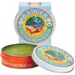 Badger Balsam calmant dupa soare, cu musetel albastru marocan si lavanda, Badger, 56 g
