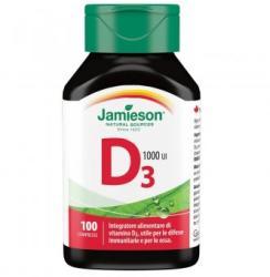 Jamieson Vitamina D3 1000 UI, 100 tablete, Jamieson (FSH7463)