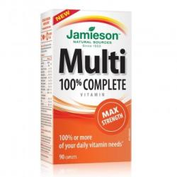 Jamieson Multi 100% complete forte, 90 capsule, Jamieson (FSH7466)