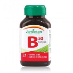 Jamieson Complex de vitamine B 50 mg, 30 capsule, Jamieson (FSH7471)