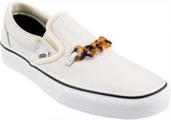 Vans CLASSIC SLIP-ON (TORT) dama alb 7