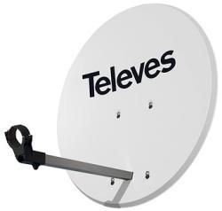 Televés ISD offset 830 Al fehér (H05b05b)