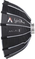 Aputure Softbox parabolic 16 spite Aputure Light Dome Mini II 55cm Montura Bowens