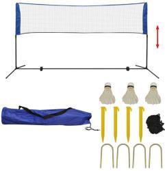 vidaXL Set fileu de badminton, cu fluturași, 300x155 cm (91307)