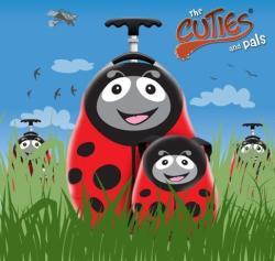 Cuties & Pals Valiza tip trolley si ghiozdan Polka the Ladybird - Cuties and Pals