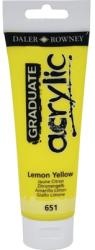 Culoare acrilica Graduate 651 Lemon Yellow 120 ml