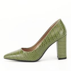 SOFILINE Pantofi kaki cu imprimeu Dalma (4512 GREEN -40)
